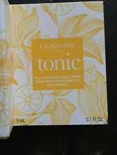 Clarins TONIC Roll-on Huile Tonic Corps, Body Treatment Oil .1oz/5ml New