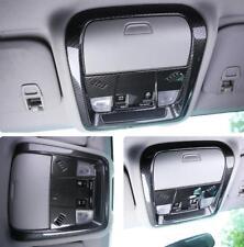 2018 for Chevrolet Equinox Carbon Fiber Front Reading Light Cove Trim 1pcs