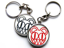 More details for radiohead rock band chrome keyring picture both sides