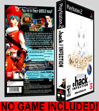 Dot Hack .hack Infection  - PS2 Reproduction Art DVD Case No Game