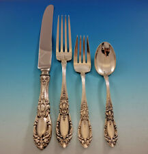King Richard by Towle Sterling Silver Flatware Service Set 33 Pieces Dinner
