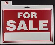 "FOR SALE Sign 12"" x 9"" with Large Window for Price/Phone Signs Indoor Outdoor"