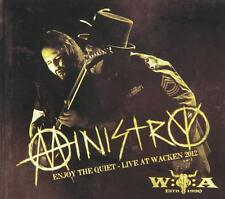 Enjoy the Quiet: Live at Wacken 2012 by Ministry W/ BONUS DISC BRAND NEW!