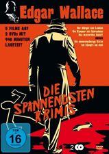 EDGAR WALLACE BOX (5 FILME DOPPEL DVD) - Karl Malden, Horst Frank  2 DVD NEU