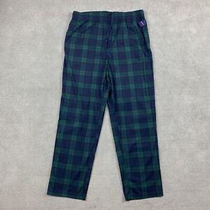 Nautica Men's Sleepwear Pajama Pants Large Plaid L Comfort Soft 1 Piece