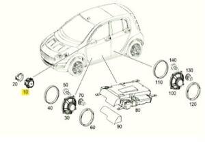 A4548200402 SMART 454 TWEETER SPEAKER IN DRIVER'S DOOR GENUINE NEW