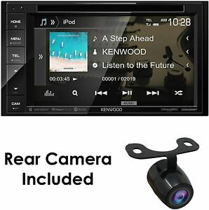 "KENWOOD DDX26BT 6.2"" DOUBLE DIN CAR STEREO DVD BLUETOOTH W Backup Cam"
