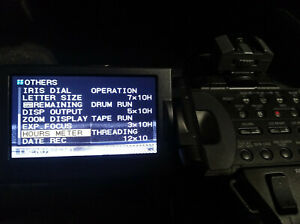 Very low hour Sony HDV HVR-Z1U  Camcorder with Pro Case and many extras