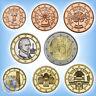 KMS Kursmünzensatz ÖSTERREICH 2018 # 1 Cent - 1 Euro + 2 Euro Republik # 3,88€