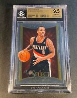 DAMIAN LILLARD 2012 SELECT #150 ROOKIE RC (ALL) BGS 9.5 SUBGRADES
