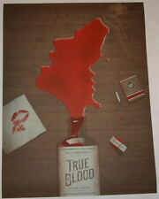 True Blood HBO Paley Fest Poster Print DKNG Signed Numbered Brown Variant