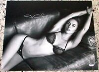CLEARANCE SALE! Megan Fox Signed Autographed 16x20 Photo PSA IN THE PRESENCE COA