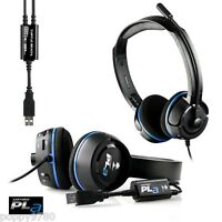 NEW Turtle Beach Ear Force PLa Gaming Headset for PS3, PS4, Windows PC, Mac Pro