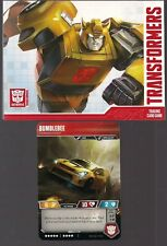 TRANSFORMERS TRADING CARD GAME WOTC GEN-CON BUMBLEBEE PROMO CT T08 + AD CARD