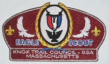 Knox Trail Council (MA) SA-14 Eagle Scout CSP  BSA