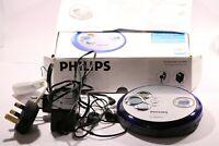 PHILIPS 100 SECONDS MAGIC EPS EXPANIUM MP3 CD PLAYER (CDR-CD-CD-RW ) EXP2461