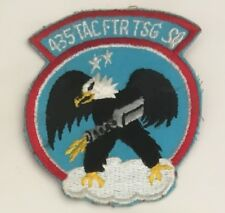 USAF United States Airforce 435 Tac Ftr Tsg Squadron Patch 3-3/4 X 3-1/8 #2959