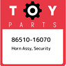 86510-16070 Toyota Horn assy, security 8651016070, New Genuine OEM Part