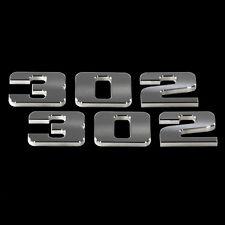 1979-2016 Ford Mustang 302 Billet Aluminum Emblem Set - Best Looking Emblems