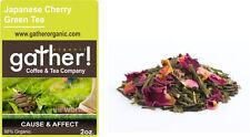 Japanese Cherry Green Tea - loose leaf green tea 2oz