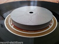 Carbon Steel Record turntable stabilizer (weight).. Approx 360 grams