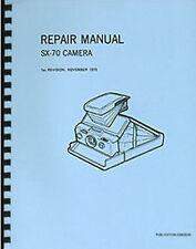 Polaroid SX-70 Camera Service & Repair Manual