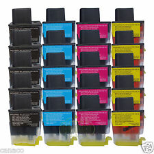 20 Pack LC41 Compatible ink cartridge for Brother MFC-210C MFC-420CN MFC-620CN