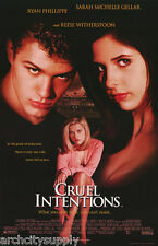 POSTER:MOVIE REPRO: CRUEL INTENTIONS - FREE SHIPPING !     #349      LW8 O