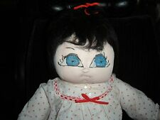 "Vintage Doll Hand-Made Baby Soft Cloth Doll 23"" Tall"
