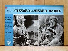 IL TESORO DELLA SIERRA MADRE fotobusta poster Huston Bogart The Trasure of R1