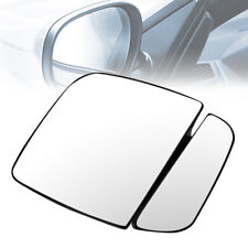 For 1992-2007 Ford E-150-550 OE Style Right Side Door Mirror Glass Lens w/Plate