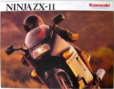 KAWASAKI Ninja ZX-11 - Motorcycle Sales Brochure - 1990 -#P/N99969-2082