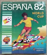 RARE & COLLECTOR ! ALBUM PANINI ESPAÑA 82 FOOTBALL WORLD CUP COMPLET