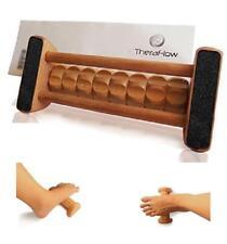 Foot Massager Roller Massage Wooden Relief Stress Plantar Pain Fasciitis Relax A