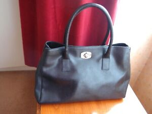 FURLA Leather Black Colour Tote  Bag
