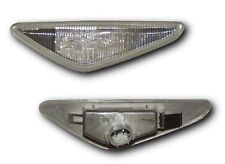 BMW 3 Series E46 Coupe 03-06 Clear LED Side Repeaters