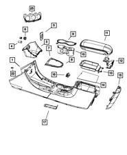 Genuine Mopar Armrest Storage Tray 1UU62DX9AB