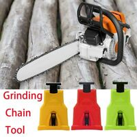 Easy File Chainsaw Teeth Chain Sharpener Tool Sharpening Grinding stone 6Color B