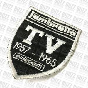 Lambretta TV Innocenti Embroidered Sew on Patch Badge Shield 007764