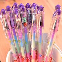 4PCS Rainbow Color Gel Pen 6 In 1 Color Pens DIY Album Photo Decoration Marker