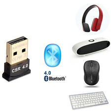 USB 2.0 Mini Wireless USB Bluetooth 4.0 Adapter For PC Laptop Keyboard mouse