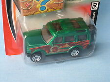 Matchbox Land Rover Discovery Green Body Adventure Toy Model Car BP 70mm