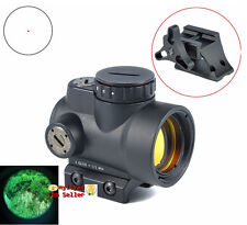 1x25 Adjustable Reflex MRO Red Dot Sight 2.0 MOA &High/Low Mounts for RifleScope