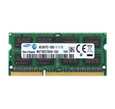 Samsung 4GB 4G Laptop RAM Kits 2RX8 DDR3 1600MHz PC3-12800 CL11 204PIN SODIMM #N
