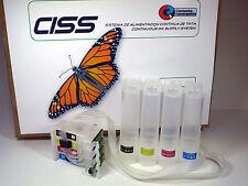 27XL Sistema de tinta CISS con chip para impresoras con cartucho 27XL(Non Oem)