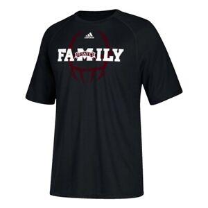 "Mississippi State Bulldogs NCAA Adidas Men's Sideline ""Mantra"" Black T-Shirt"