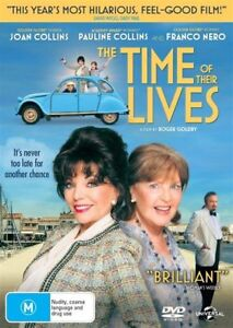 The Time Of Their Lives (DVD, 2017) as new