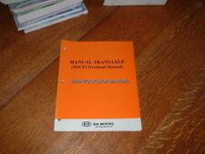 GENUINE KIA M5CF3 MANUAL TRANSAXLE WORKSHOP MANUAL.2006