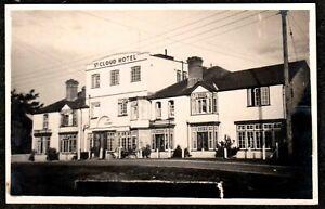 1950 BROCKENHURST ST CLOUD HOTEL REAL PHOTO POSTCARD HAMPSHIRE