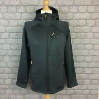 OEX MENS UK S GREY DYNO HOODIE HOODED FLEECE JACKET RRP £70  *